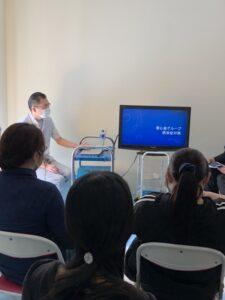 5/28 せいりょうレジデンスにて感染症対策の講習会を開催致しました。